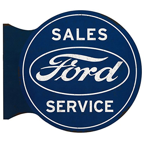 Open Road Brands Ford Sales/Service Flanged Wall Sign