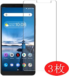 """【3 Pack】 Synvy Screen Protector for Lenovo Tab V7 6.95"""" TPU Flexible HD Clear Case-Friendly Film Protective Protectors [Not Tempered Glass] Updated Version"""