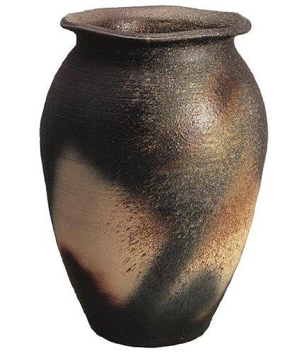 信楽焼陶器 花器 青窯変大壺 20号 高さ60.0cm 7017-04 B00CU6B2UE