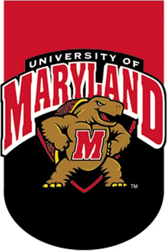 University Maryland Terrapins Applique Standard