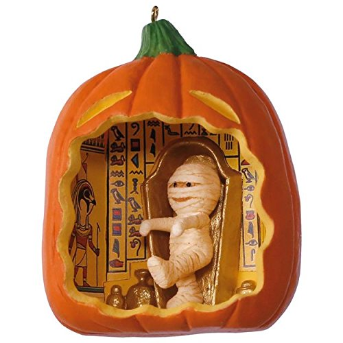 Hallmark 2017 Happy Halloween! Mummy Ornament -