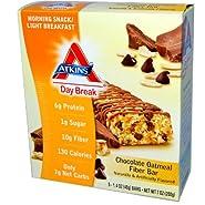Atkins Day Break Chocolate Oatmeal Fiber - 15 Bars
