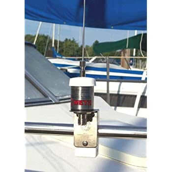 Manta 6 VHF MARINE ANTENNA with Bracket