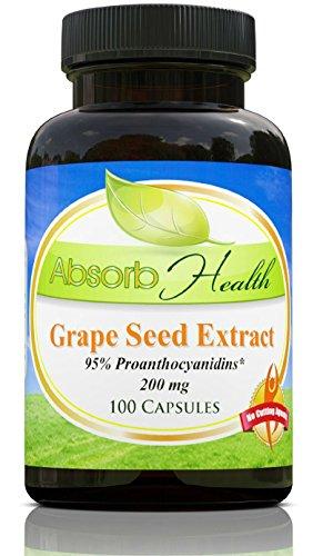 Экстракт виноградных косточек | 200 мг | 100 Капсулы | 95% OPC флавоноиды | сильнодействующим
