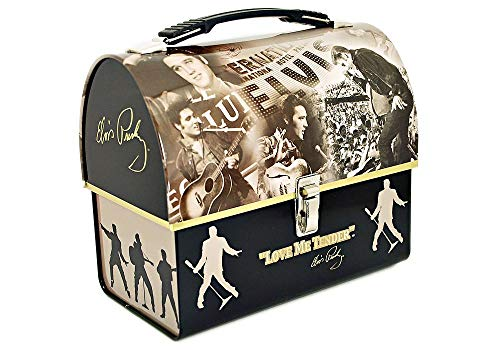 Elvis Presley Dome Tin Tote ()