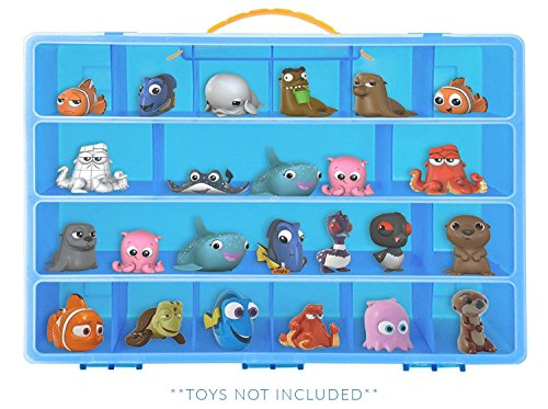 Finding Dory Case, Toy Storage Carrying Box. Figures Playset Organizer. Accessories For Kids by LMB Box Findings
