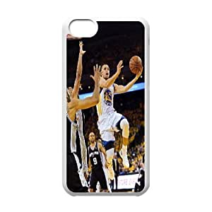 LJF phone case C-EUR Print Stephen Curry Pattern Hard Case for ipod touch 5