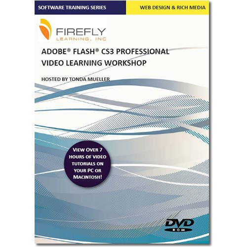 Firefly Learnings Adobe Flash CS3 Essentials Video Learning Workshop