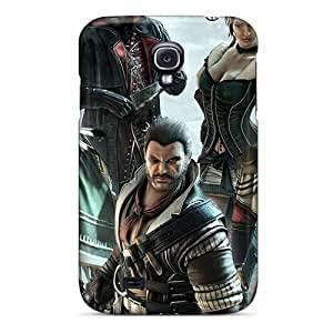 Galaxy S4 Case, Premium Protective Case With Awesome Look - Assassins Creed 3
