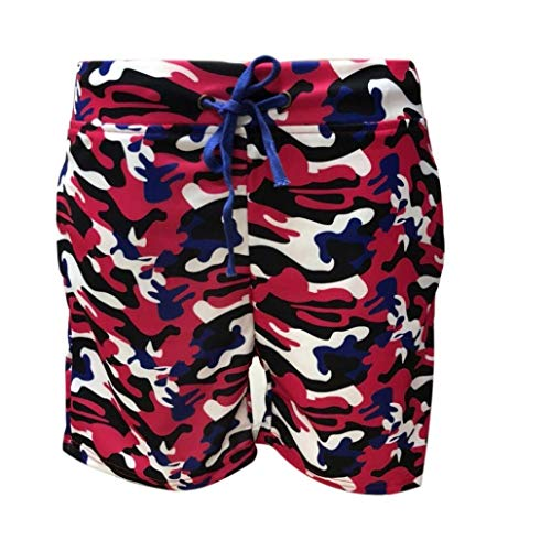 Jogginghos Short Yoga Abbigliamento Rosa Moda Camouflage Stampa Estate Pantaloni Festivo Colorata Sportivi Fascia Spiaggia Fitness Mens Casual Pantaloncini 6ZwqzxaTx