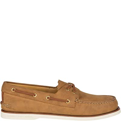 Sperry Men's, Men's Gold Cup Authentic Original Cross Lace Boat Shoe Brown 11 M | Loafers & Slip-Ons