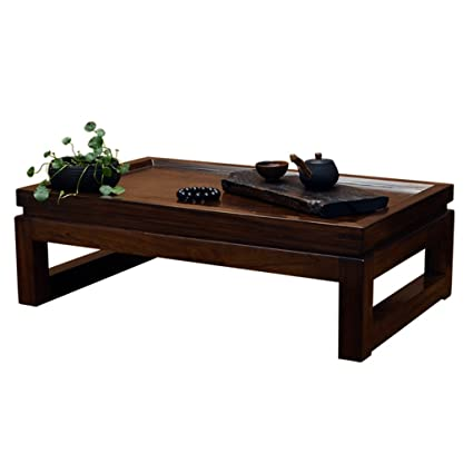 Amazon Com Tables Elm Low Bay Window Kung Fu Small Coffee Small