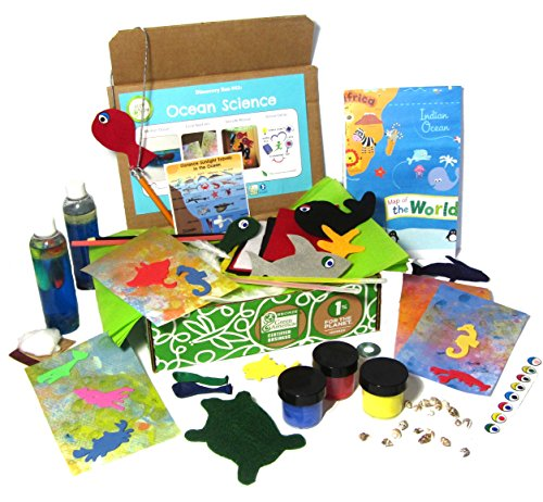 Green Kid Crafts, Ocean Science Discovery Box
