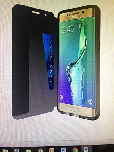 quality design ad3d9 92154 Tech21 Evo Frame Wallet For Samsung Galaxy S6 Edge Case D3O Card Slot Cover  Black Good