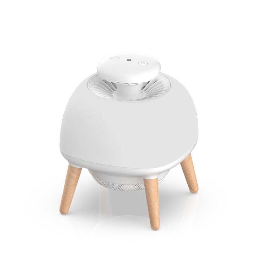 LED-Haushalts-Photokatalysator-Moskito-Mörder-Lampe, Wanzen-Zapper, intelligente Licht-SteuerSilikagel-Moskito-Lampe, ultra-leise, keine Strahlung, 3 Modi Insekten-Mörder-Lampe (mit Adapter) für Innen