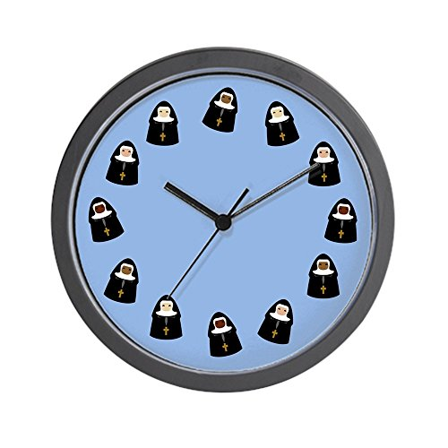 Cheap CafePress – Cute Nuns – Unique Decorative 10″ Wall Clock