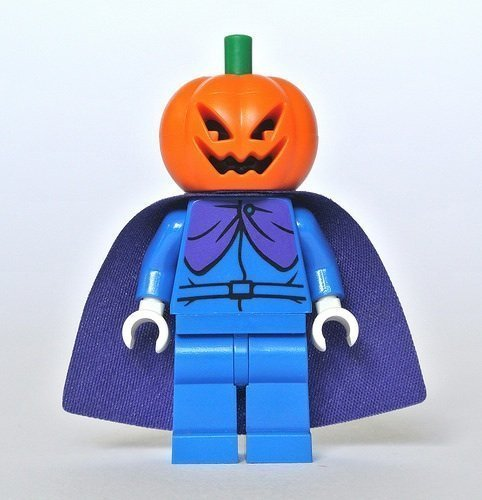 LEGO Scooby-Doo Cartoon Halloween Minifigure - Headless Horseman Pumpkin Head (75901) by -