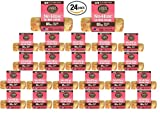 Earth Animal No-Hide Salmon Chews for Dogs, 4'' 24-Pack
