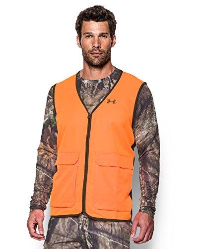 Under Armour Men's Blaze Antler Logo Hunting Vest, Blaze Ora