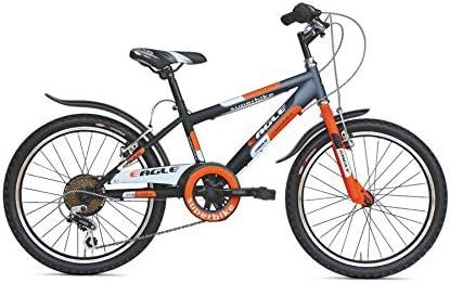EAGLE bicicleta 20 mtb\superbike 6 Velocidades negro naranja ...