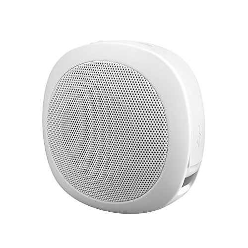MOGIC Portable Wireless Bluetooth Speaker Outdoor Shockproof and Waterproof IPX5 Mini Speaker (White) by MOGIC