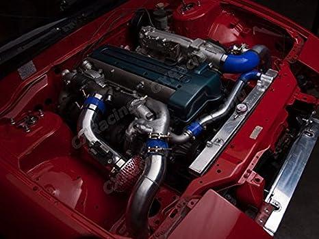 Amazon.com: Al.Radiator+Water Hard Pipe Kit for 95-98 240SX S14 1JZ 2JZ 1JZ-GTE: Automotive