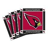 Boelter Brands NFL Arizona Cardinals 4-Pack Ceramic Coasters