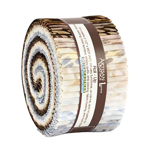 Artisan Batiks: Texture Study Roll Up 2.5