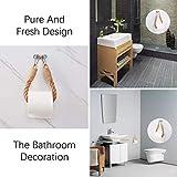 ZLMNB 2 Pieces Nautical Toilet Paper Holder,Antique Industrial Wall-Mounted Towel Rack Bathroom Bathroom Decoration