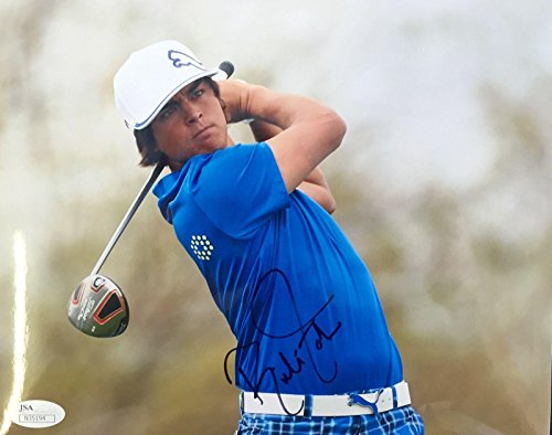 Rickie Fowler Autographed Photograph - 2013 Torrey Pines 8x10 N35194 - JSA Certified - Autographed Golf (Golf Certified Autograph 8x10 Photo)