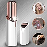 Flawless Hair Remover Gold Facial As Seen On TV Women's Face Lipstick Light Painless Remover Finishing Touch Face (White)