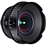 ROKINON XEEN 16mm T2.6 Professional Cine Lens for PL Mount Pro Video Cameras, Black (XN16-PL)