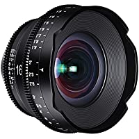 ROKINON XEEN 16mm T2.6 Professional Cine Lens for Nikon, Black (XN16-N)