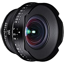 ROKINON XEEN 16mm T2.6 Professional Cine Lens for Canon EF, Black (XN16-C)