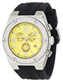 Swiss Legend Men's 30025-07 Throttle Chronograph Yellow Dial Watch, Watch Central