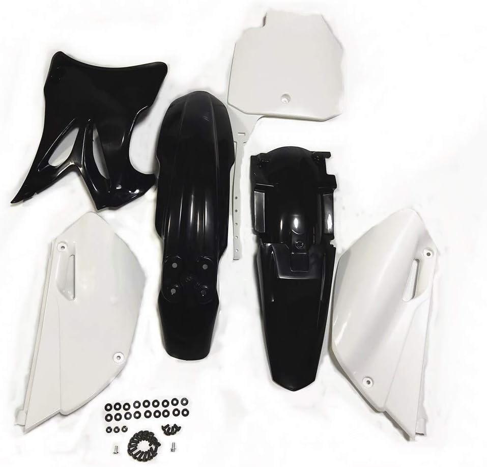 hongyu YZ85 Black Plastic Body Fender Kit for YAMAHA YZ85 2002-2014 Pit Dirt Bikes Including Mounting Screw