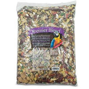 Great Companions Premier Macaw & Large Parrot 5 lbs – Best food-mix for Macaws