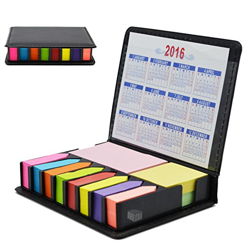 Maymii Multi Tasker Memo Holder  Sticky Notes With Two Year Calendar