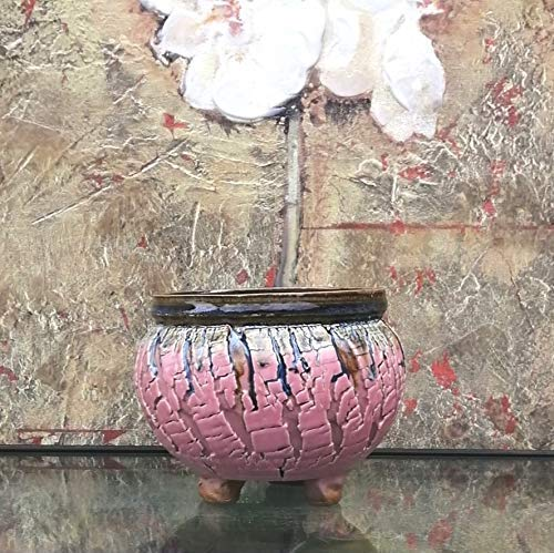 Handmade Ceramic Plant Pot with Drainage | Flower Vase Home Decor | Succulent Cactus Herb Planter 2