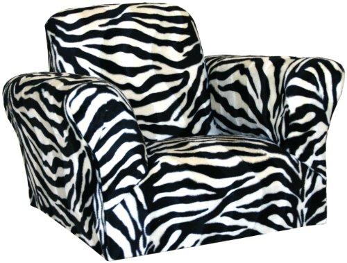 Upholstered Alder Chair (Harmony Kids Standard Rocker, Zebra)