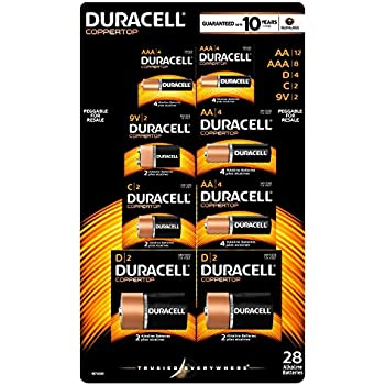 Amazon.com: Duracell Coppertop Alkaline Batteries