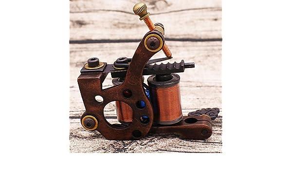 GSM+Máquina de tatuajes & Secante de L cobre puro tallado tatuaje ...