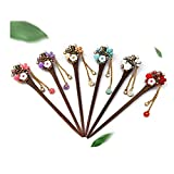 Frcolor Stylish Hair Stick Vintage Hair Pin Women