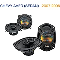 Chevy Aveo (Sedan) 2007-2008 OEM Speaker Upgrade Harmony R5 R69 Package New
