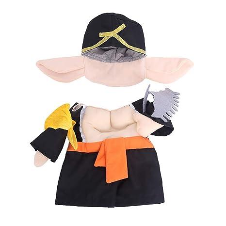 LCWYP Mascota Halloween para El Monje Loco Disfraz De Gato ...