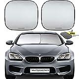 Autoamerics-Windshield-Sun-Shade-2Piece-Foldable-Car-Front-Window-Sunshade-for-Most-Compact-Sports-Cars--Auto-