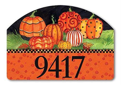 [Yard DeSign Painted Pumpkins Yard Sign #71216] (Halloween Yard)