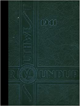 Reprint 1941 Yearbook Southwest High School St Louis Missouri