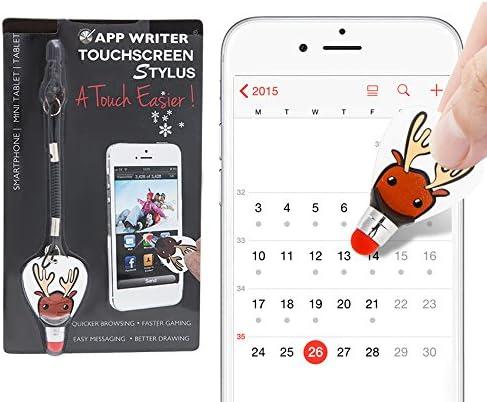 Aquarius Neat Little Gadget App Writer pantalla táctil lápiz con un cordón elástico y aluminio Material funciona con todos los dispositivos con pantalla táctil tecnología también disponible en cuatro diseños: Amazon.es: Electrónica