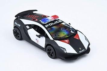 Kinsmart 1 36 Lamborghini Sesto Elemento Police Car Amazon Co Uk